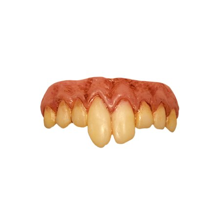 Halloween Trick Or Treat Ideas For Adults (Trick or Treat Studios It Pennywise Teeth for Adult, One Size, Yellowed, Uneven Fangs Give You a Creepy Clown)