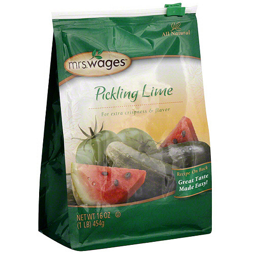 Mrs. Wages Pickling Lime, 16 oz (Pack of 6)
