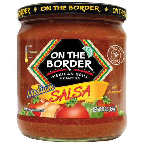 On The Border Mexican Grill & Cantina Medium Salsa, 16 oz