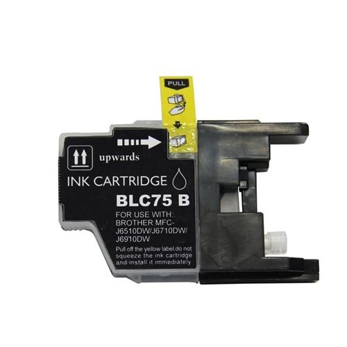 Insten 3 Packs Black Ink Cartridge Compatible for Brother LC75 BK LC-71 Bk