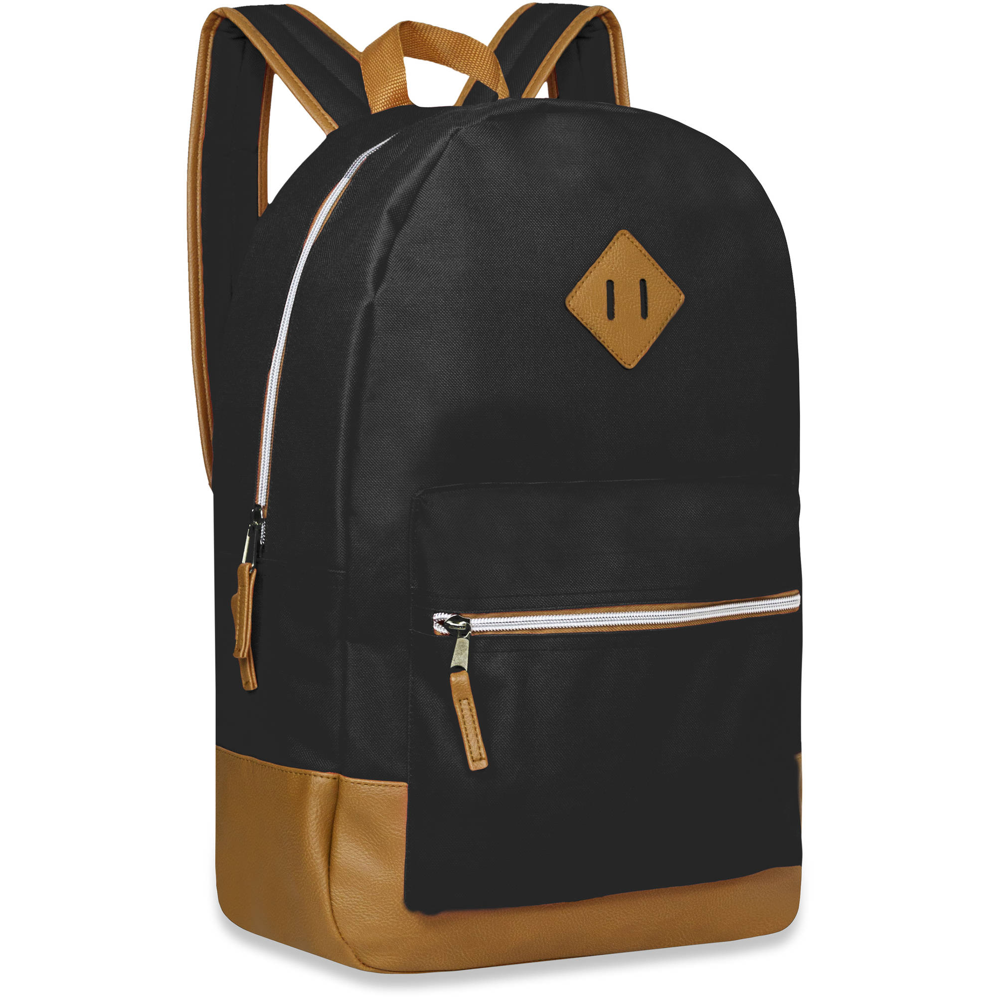 17.5 Inch Classic Backpack with Reinforced Suede Bottom and Comfort Padding