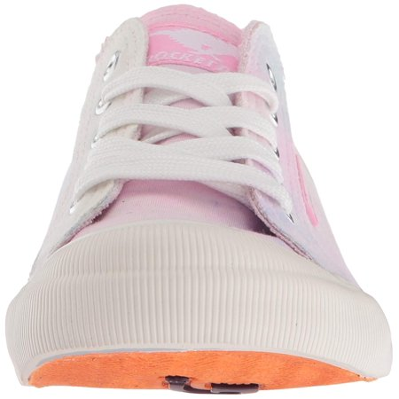 Rocket Dog Women's Jazzin Vision Cotton Sneaker, Pink, Size 7.0