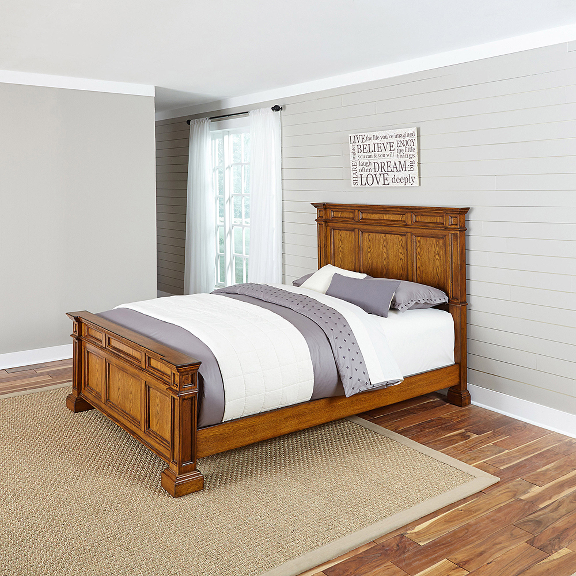 Home Styles Americana King Bed