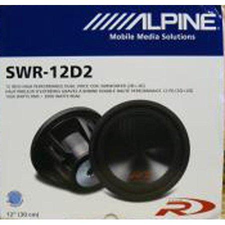 Alpine Swr 12D2 Type R 12  Subwoofer