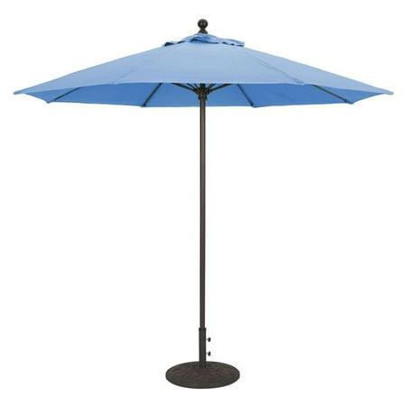 Galtech International 735w74 9 ft. Manual Lift & Commercial Fiberglass Ribs Capri Sunbrella - image 1 of 1