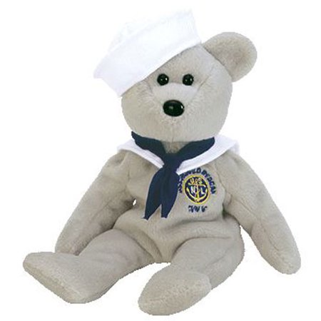 TY Beanie Baby - RONNIE the Sailor Bear (USA Exclusive) (8.5 inch) - Exclusive Ty Beanie