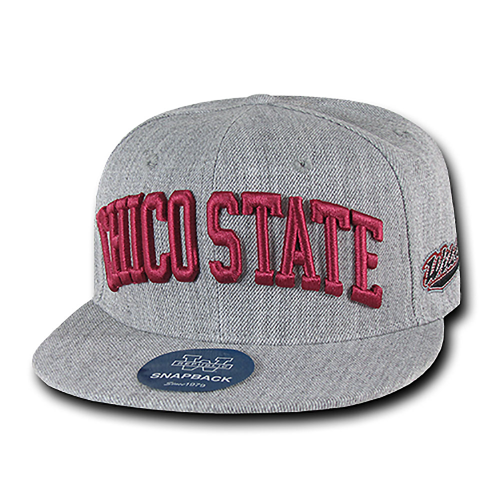 Cal State Chico Wildcats Game Day Fitted Hat (Gray)