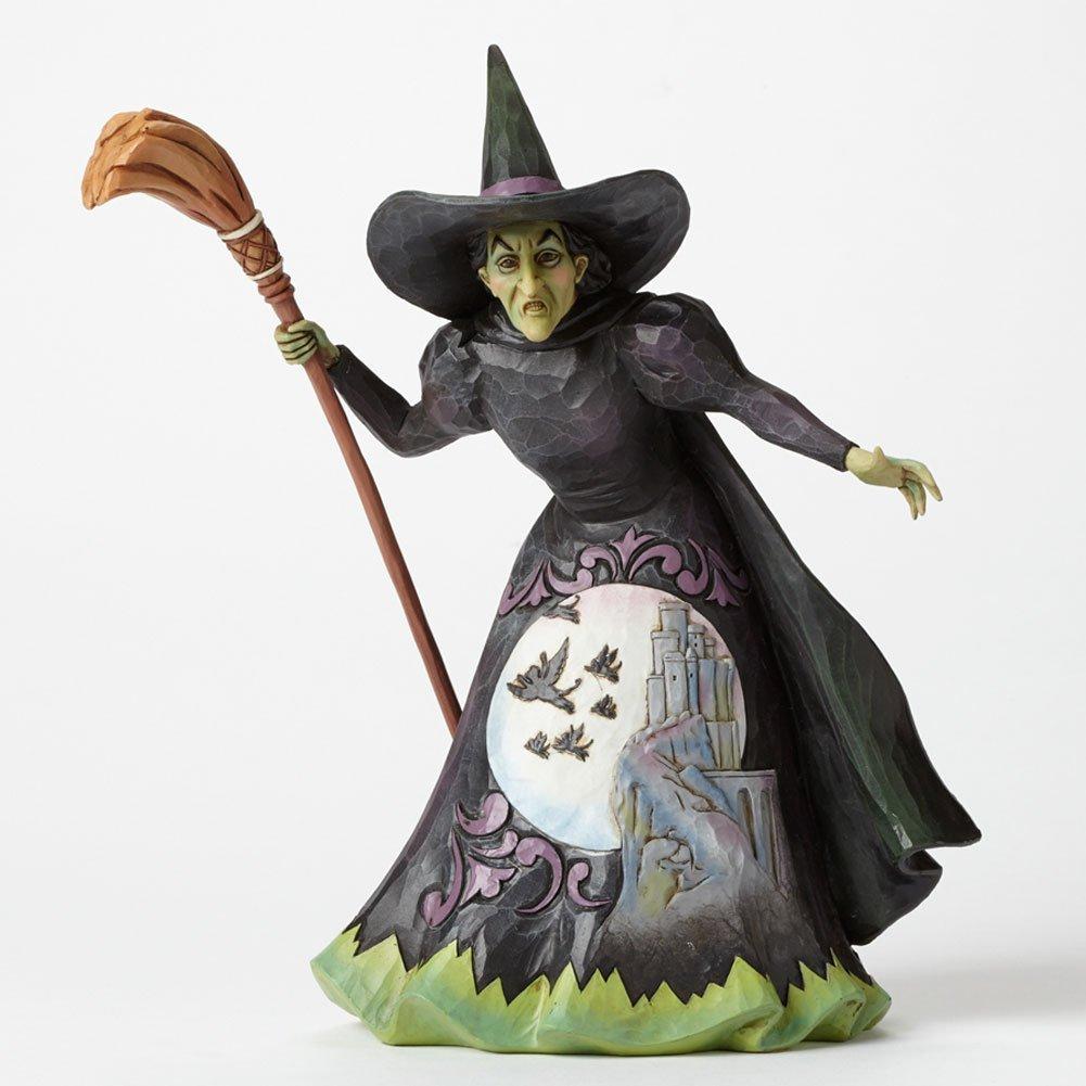 "Jim Shore Wizard of Oz ""Wickedness"" Wicked Witch of the W..."