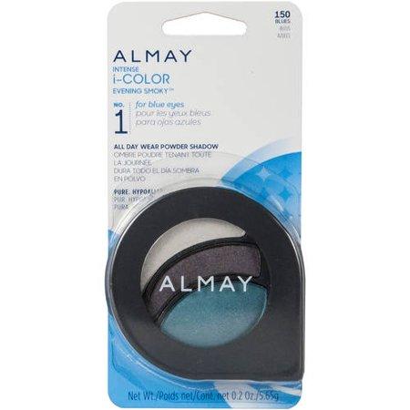 Almay Intense I-Color Evening Smoky All Day Wear Powder Eye Shadow, 0.2 Oz, For Blue Eyes