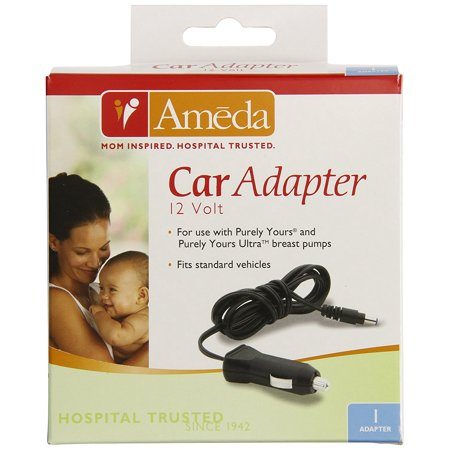 Ameda Purely Yours Bpa - Purely Yours Breast Pump Car Adapter, Pump while on-the-go By Ameda