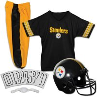 f9e6f0eaf0e Product Image Franklin Sports NFL Pittsburgh Steelers Youth Licensed Deluxe  Uniform Set