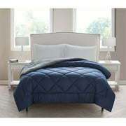***DISCONTINUE*** VCNY Home Kyle Checkerboard Plush Reversible Bedding Comforter