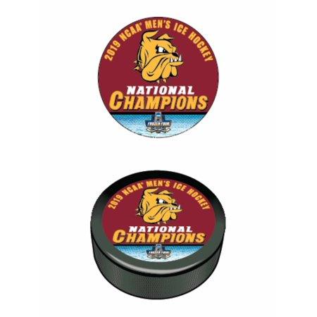 Minnesota Duluth Bulldogs 2019 NCAA Men's Frozen Four Champions Hockey