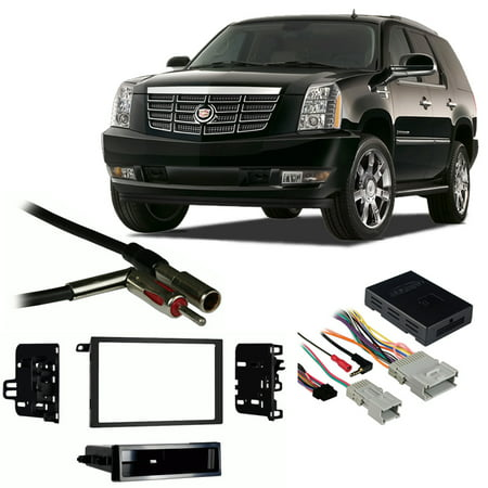 Magnificent Fits Cadillac Escalade 03 06 Double Din Stereo Harness Radio Install Wiring Cloud Inamadienstapotheekhoekschewaardnl