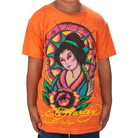 Ed Hardy Kids Geisha T-Shirt Ed Hardy Vest
