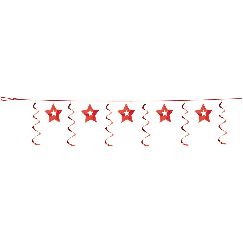 Red Stars Dizzy Dangler Garland