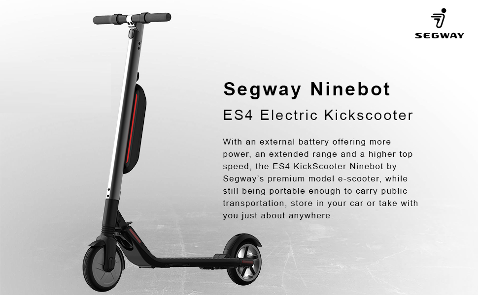 Segway ES4 High Performance Electric Scooter by Segway