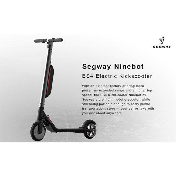 Segway ES4 High Performance Electric Scooter - Walmart com