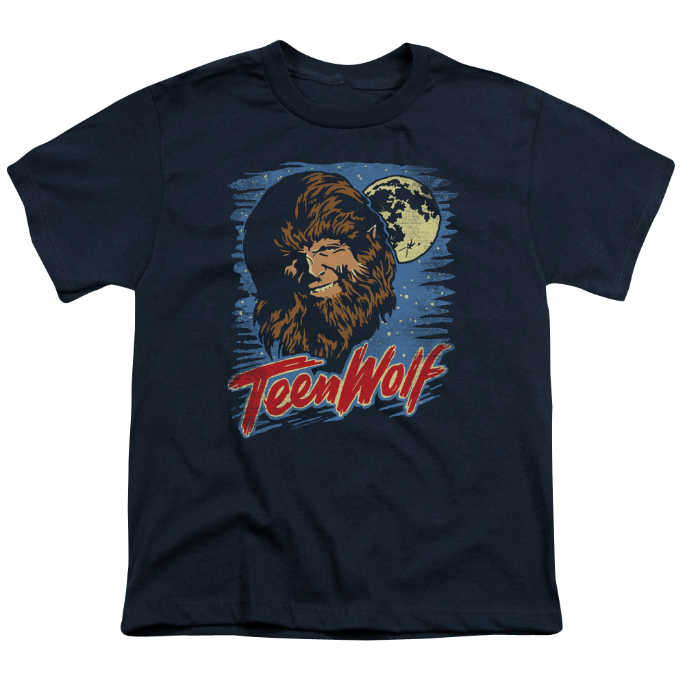 Teen Wolf Moon Wolf Big Boys Shirt
