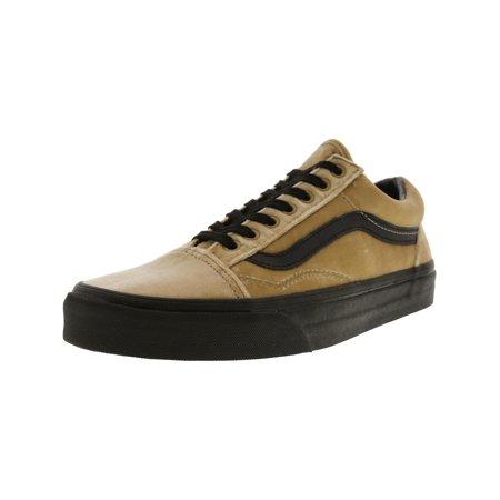 1a8e4dfccc Vans Old Skool Velvet Tan   Black Ankle-High Skateboarding Shoe - 8.5M 7M  ...