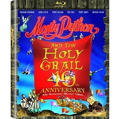 Monty Python And The Holy Grail - 40th Anniversary Edition (Blu-ray))