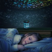 Color Constellation Star Projector Lamp Night Light by Hey! Play!