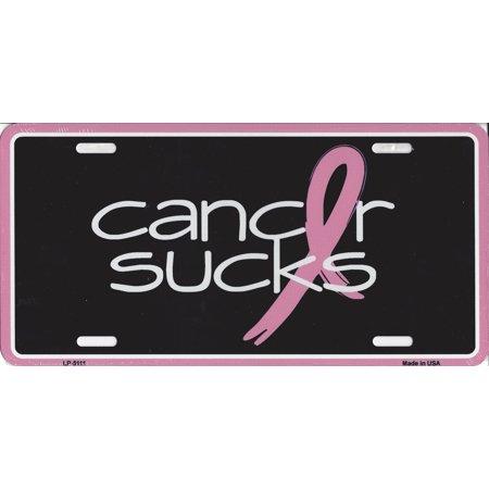 Cancer Sucks License Plate - Cancer Sucks Bracelets