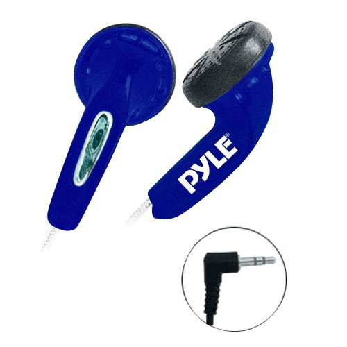 Ultra Slim In-Ear Ear-Buds Stereo Bass Headphones For Ipod/MP3/All Audio source Players (Blue)