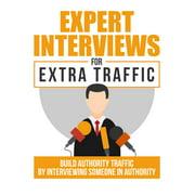 Expert Interviews For Extra Traffic - eBook