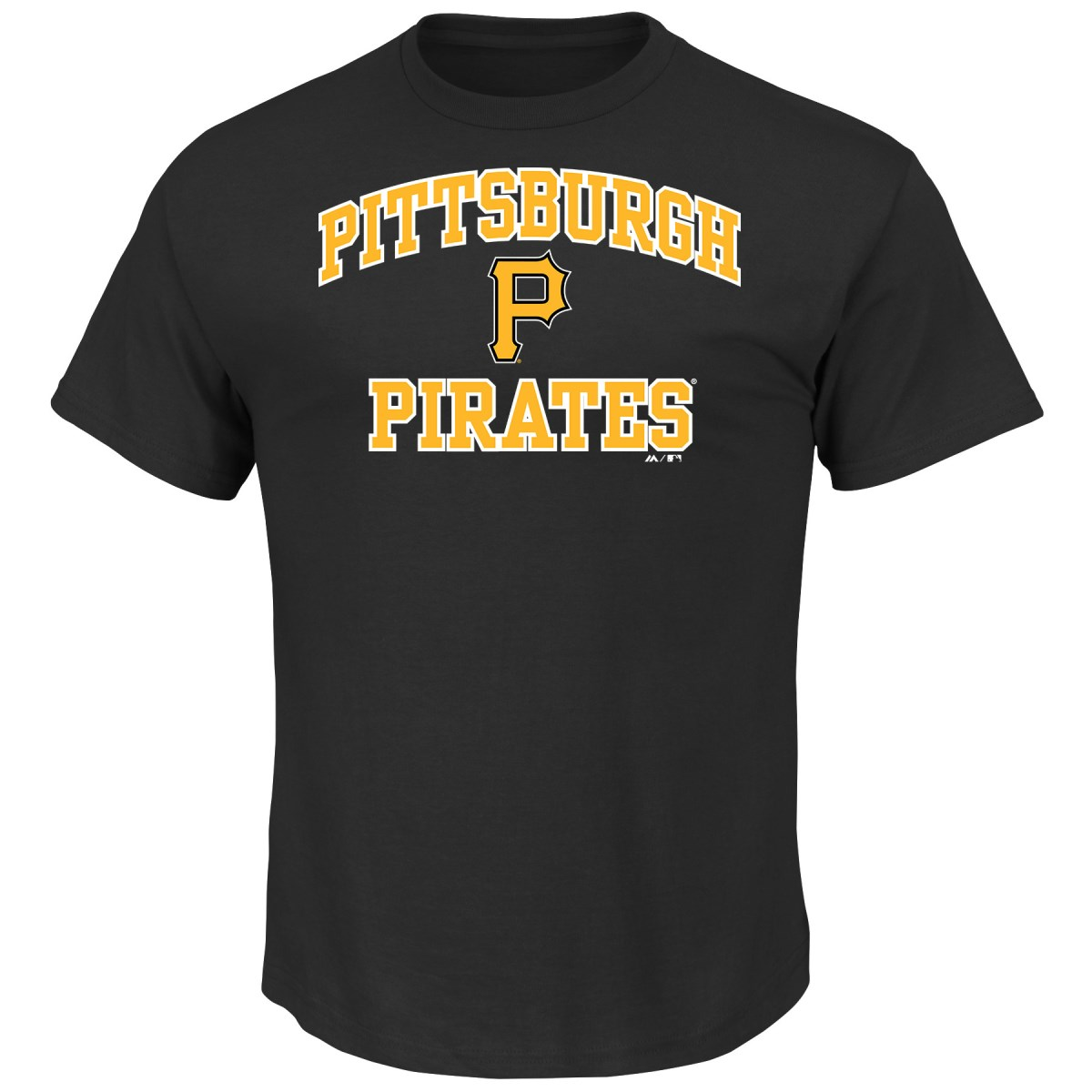 "Pittsburgh Pirates Majestic MLB ""Heart & Soul"" Men's Short Sleeve T-Shirt"