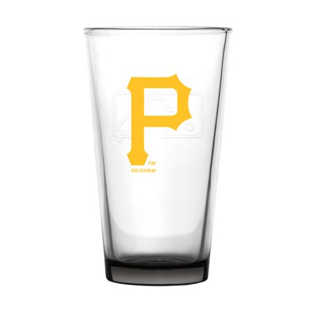 Embossed Beer (Pittsburgh Pirates Embossed 16oz. Pint Glass - No Size)