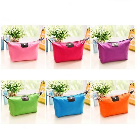 Waterproof Nylon Women Makeup Cosmetic Bags Travel Beauty Toiletry Bag - image 7 of 8