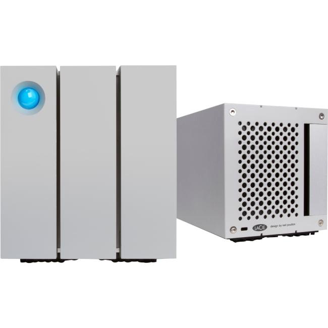 "LaCie 2big 8 TB 3.5"" External Hard Drive - Thunderbolt 2,..."