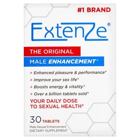 ExtenZe Mise en valeur sexuelle d'origine Homme 30 comprimés