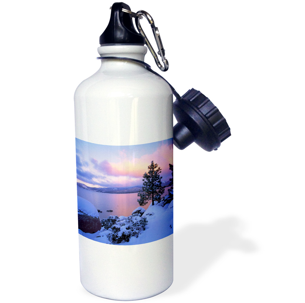 3dRose California. A winter day at Lake Tahoe US05 BJA0186 Jaynes Gallery, Sports Water Bottle, 21oz by Supplier Generic