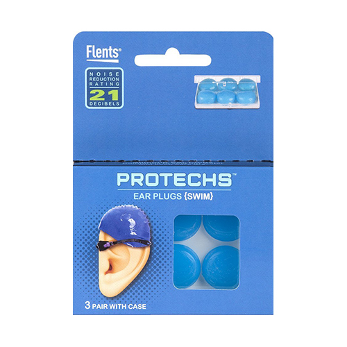 Apothecary Flents Protechs Ear Plugs, 3 ea