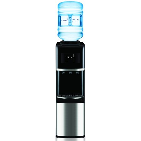 Primo Top-Load Water Dispenser, Stainless (Water Cooler Cart)
