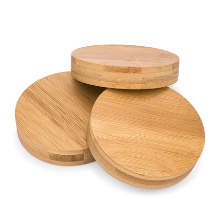 decorative mason jar lids bamboo lid covers by life cycle wide