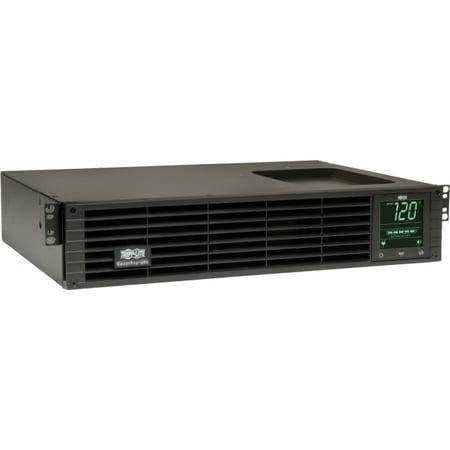 Tripp Lite UPS Smart 1000VA 800W Rackmount AVR 120V Pure Sine Wave LCD USB DB9 2URM TAA - 1000VA/700W - 7 Minute Full Load - 6 x NEMA -