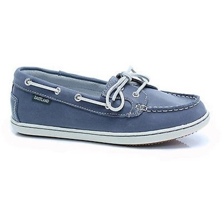 EASTLAND ROSY BLUE LEATHER WOMENS BOAT SHOES 6.5 M
