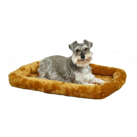 MidWest QuietTime Pet Bed & Dog Crate Mat, Cinnamon 30u0022