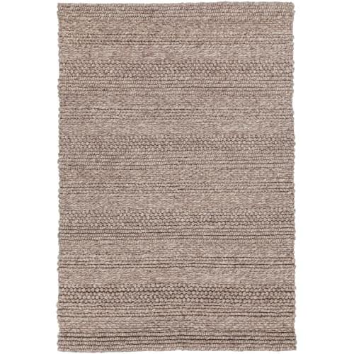 Chandra Rugs NAJ403-79106 Naja 8' x 11' Rectangle Wool Hand Woven Solid Area Rug