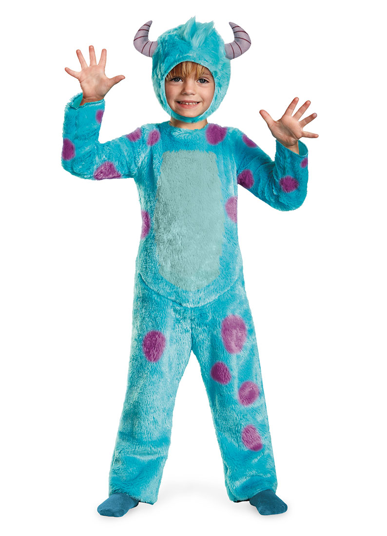 Toddler Sulley Monsters Inc Deluxe Costume By Disguise 58771 Walmart Com Walmart Com