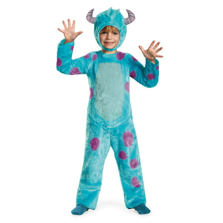 Toddler Sulley Monsters INC Deluxe Costume by Disguise 58771](Sulley Monsters Inc Halloween Costume)