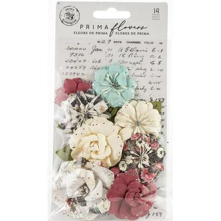 Prima Marketing 637941 Garden Blooms - Midnight Garden Paper Flower