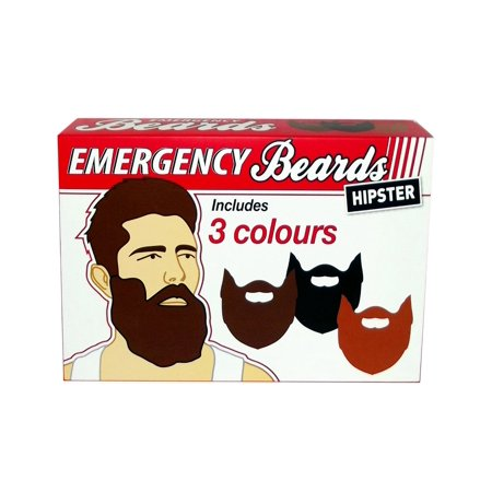 Gift Republic  Emergency Beards (Emergency Costumes)
