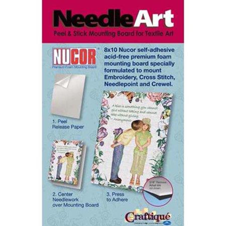 NeedleArt Self-Adhesive Foam Mounting Boards
