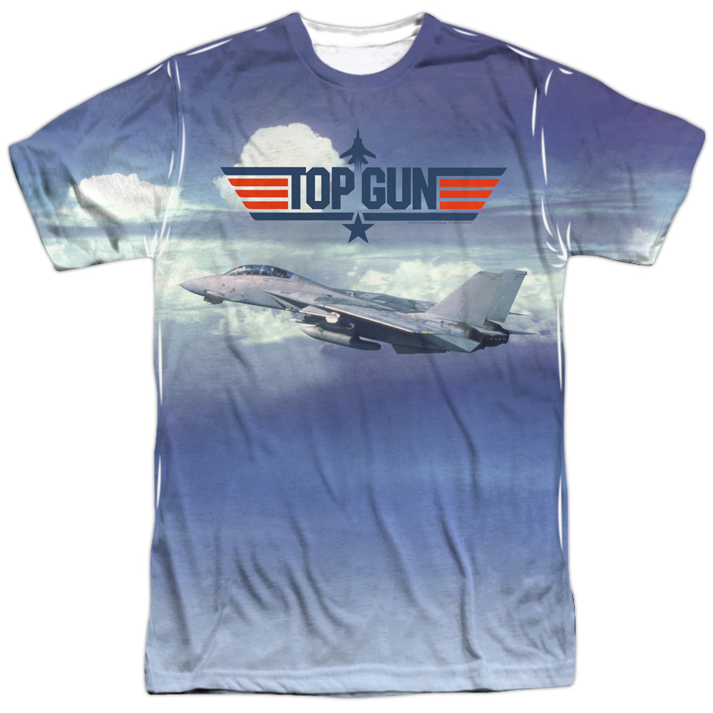 Top Gun Take Off Mens Sublimation Shirt