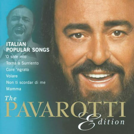 Italian Popular Songs (Pavarotti Edition) (CD)](Popular Halloween Songs)