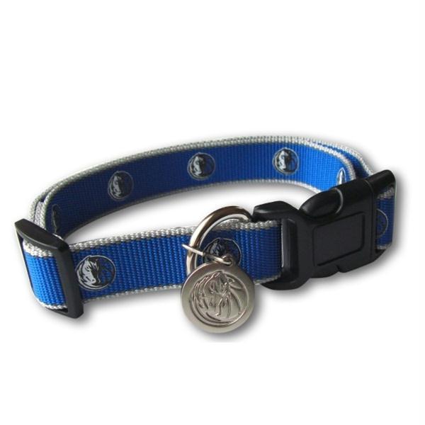 Dallas Mavericks Reflective Pet Collar - M/L